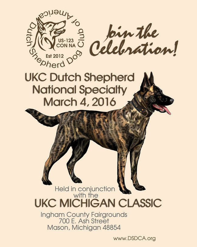 UKC National Dutch Shepherd Specialty